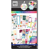Me and My Big Ideas - Happy Planner Collection - Planner - Stickers - Value Pack - Color Story 4 with Foil Accents