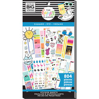 Me and My Big Ideas - Happy Planner Collection - Planner - Stickers - Value Pack - Summer with Foil Accents