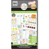 Me and My Big Ideas - Happy Planner Collection - Planner - Stickers - Value Pack - Yum with Foil Accents