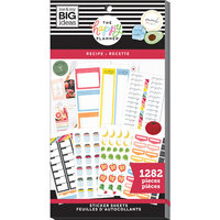 Me and My Big Ideas - Happy Planner Collection - Planner - Stickers - Value Pack - Recipe