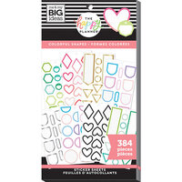 Me and My Big Ideas - Happy Planner Collection - Planner - Stickers - Value Pack - Colorful Shapes