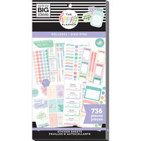 Me and My Big Ideas - Happy Planner Collection - Planner - Stickers - Value Pack - Wellness