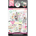 Me and My Big Ideas - Create 365 Collection - Planner - Stickers - Value Pack - Watercolor with Foil Accents