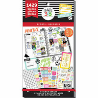 Me and My Big Ideas - Create 365 Collection - Planner - Stickers - Value Pack - Sports