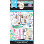 Me and My Big Ideas - Create 365 Collection - Planner - Stickers - Value Pack - Colorful Boxes