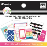 Me and My Big Ideas - Create 365 Collection - Planner - Tiny Sticker Pad - Bold and Bright