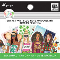 Me and My Big Ideas - Happy Planner Collection - Planner - Tiny Sticker Pad Seasonal with Foil Accents