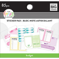 Me and My Big Ideas - Happy Planner Collection - Planner - Tiny Sticker Pad - Budget