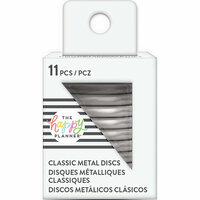 Me and My Big Ideas - Create 365 Collection - Planner - Classic Metal Discs - Silver