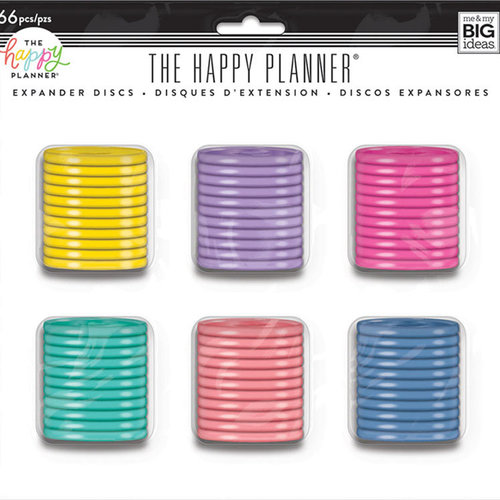 Me and My Big Ideas - Create 365 Collection - Planner - Expander Discs - Value Pack