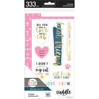 Me and My Big Ideas - Happy Planner Collection - Planner - Classic - Dashboard Stickers - Feline Good