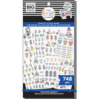 Me and My Big Ideas - Happy Planner Collection - Planner - Stickers - Value Pack - Stick Girls Craft