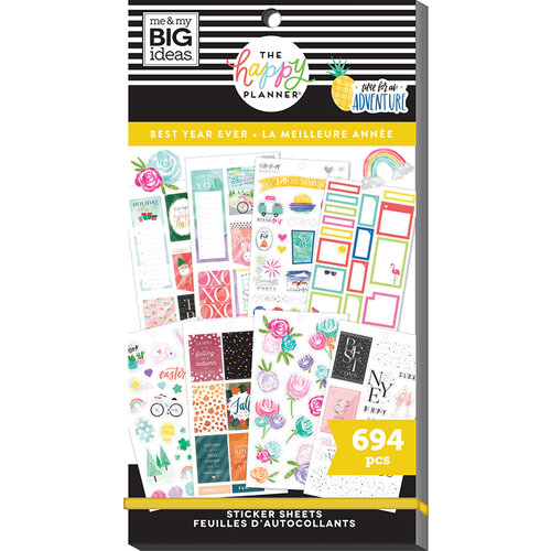 Me and My Big Ideas - Happy Planner Collection - Planner - Stickers - Value Pack - Best Year Ever