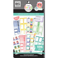 Me and My Big Ideas - Happy Planner Collection - Planner - Stickers - Value Pack - Appointments