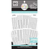 Me and My Big Ideas - Happy Planner Collection - Planner - Stickers - Value Pack - Handwritten Plans