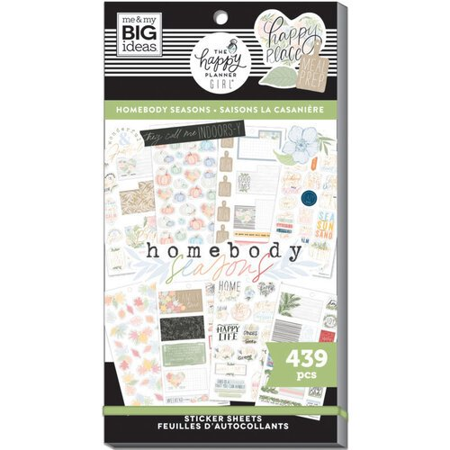 Me and My Big Ideas - Happy Planner Collection - Planner - Stickers - Value Pack - Homebody Seasonal