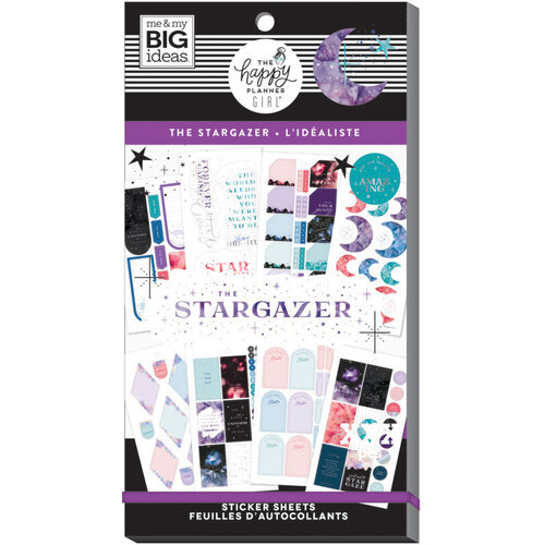 Me and My Big Ideas - Happy Planner Collection - Planner - Stickers - Value Pack - The Stargazer