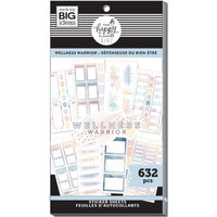 Me and My Big Ideas - Happy Planner Collection - Planner - Stickers - Value Pack - Wellness Warrior
