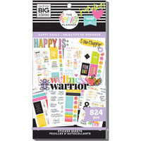 Me and My Big Ideas - Happy Planner Collection - Planner - Stickers - Value Pack - Happy Goals