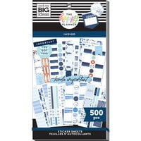 Me And My Big Ideas - Happy Planner Collection - Planner - Stickers - Indigo