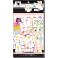 Me And My Big Ideas - Happy Planner Collection - Planner - Stickers - Pressed Florals