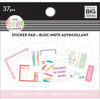 Me and My Big Ideas - Happy Planner Collection - Planner - Tiny Sticker Pad - Wisdom and Wonder