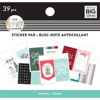 Me and My Big Ideas - Christmas - Happy Planner Collection - Planner - Tiny Sticker Pad - Winter