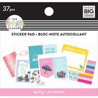 Me and My Big Ideas - Happy Planner Collection - Planner - Tiny Sticker Pad - Spring