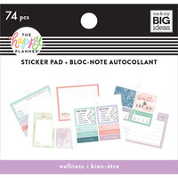 Me and My Big Ideas - Happy Planner Collection - Planner - Tiny Sticker Pad - Wellness