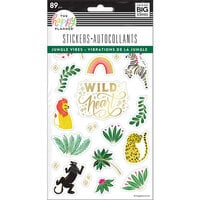 Me And My Big Ideas - Happy Planner Collection - Planner - Stickers - Jungle Vibes - 5 Sheets