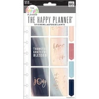 Me And My Big Ideas - Happy Planner Collection - Planner - Punched Stickers - Joy Faith