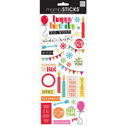 Me and My Big Ideas - MAMBI Sticks - Clear Stickers - Getting Old