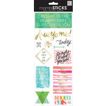 Me and My Big Ideas - MAMBI Sticks - Clear Stickers - Delight In The Beauty