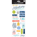 Me and My Big Ideas - MAMBI Sticks - Clear Stickers - Just Go Travel