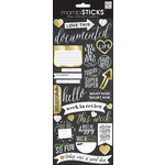 Me and My Big Ideas - MAMBI Sticks - Stickers - Chalk - Love This - Gold Foil
