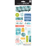 Me and My Big Ideas - MAMBI Sticks - Clear Stickers - Epic - Travel