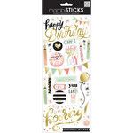 Me and My Big Ideas - MAMBI Sticks - Clear Stickers - Birthday - Yay