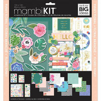 Me and My Big Ideas - MAMBI Kit - 12 x 12 Page Kit - Funky Florals