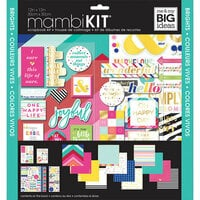 Me and My Big Ideas - MAMBI Kit - 12 x 12 Page Kit - Brights