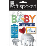 Me and My Big Ideas - Soft Spoken - 3 Dimensional Stickers - Little Man Babiy Boy