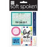 Me and My Big Ideas - Soft Spoken - 3 Dimensional Stickers - If You Dream