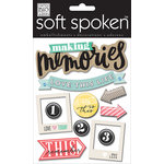 Me and My Big Ideas - Soft Spoken - 3 Dimensional Stickers - Love This Life