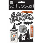 Me and My Big Ideas - Soft Spoken - 3 Dimensional Stickers - Halloween Spooky