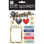 Me and My Big Ideas - Soft Spoken - 3 Dimensional Stickers - My Favorite