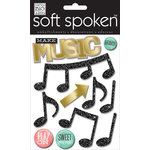 Me and My Big Ideas - Soft Spoken - 3 Dimensional Stickers - Make Music