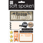 Me and My Big Ideas - Soft Spoken - 3 Dimensional Stickers - Halloween Beware