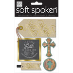 Me and My Big Ideas - Soft Spoken - 3 Dimensional Stickers - Rejoice Always