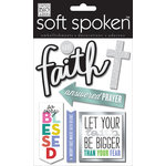Me and My Big Ideas - Soft Spoken - 3 Dimensional Stickers - Have Faith