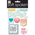 Me and My Big Ideas - Soft Spoken - 3 Dimensional Stickers - Caring Mother