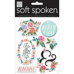 Me and My Big Ideas - Soft Spoken - 3 Dimensional Stickers - Bunch of Love